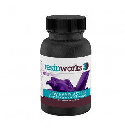 CCW EasyCast HD LCD Castable Resin - Violet Optimized for Phrozen