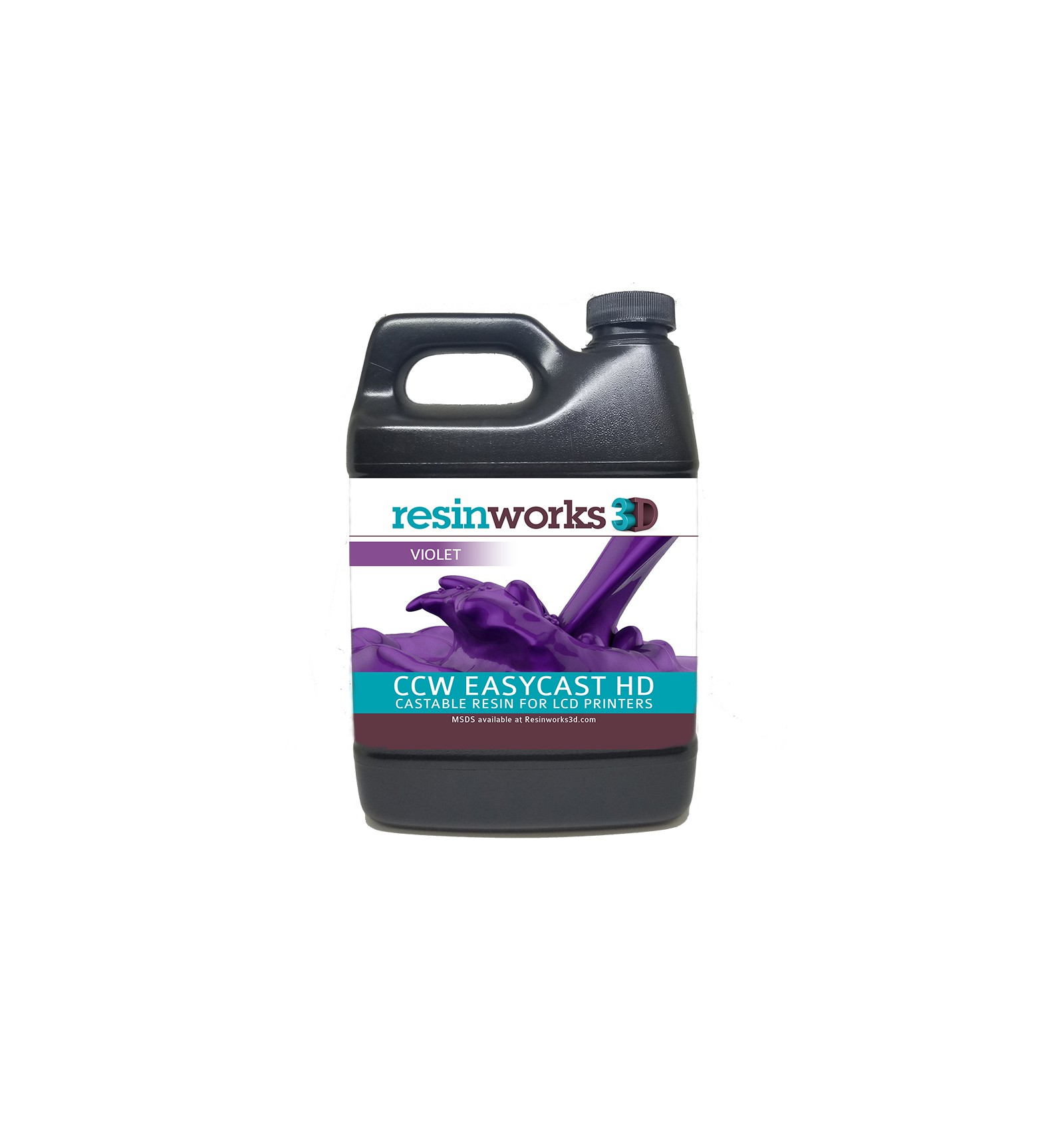 CCW EasyCast HD LCD Violet Castable Resin